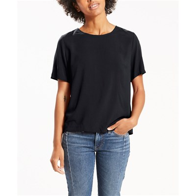 Levi's Darya sporty tee - t-shirt manches courtes - rouge