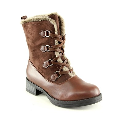 Catisa Boots, Bottines - camel