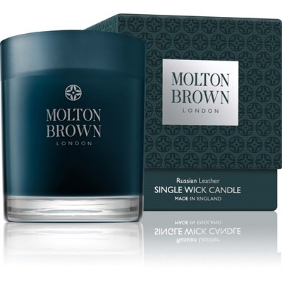 Molton Brown russian leather - bougie - 180 g