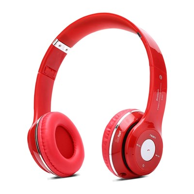 Slim Pearl casque bluetooth multifonction - rouge