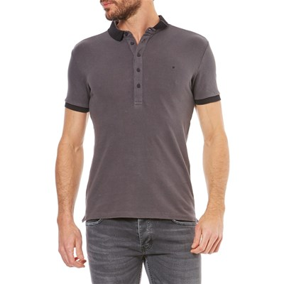 Deepend Polo manches courtes - anthracite