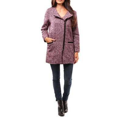 CLAUDIA FABRI Alice - Manteau - bordeaux