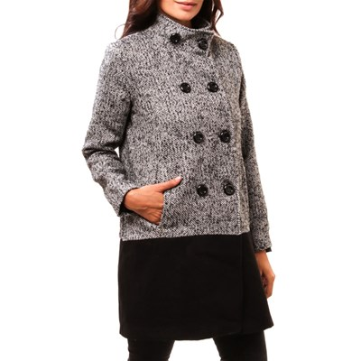 CLAUDIA FABRI Mary - Manteau - noir