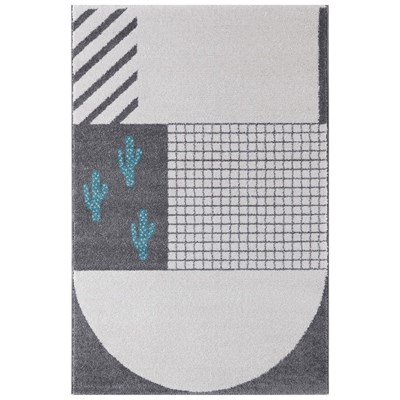 Art For kids tapis - bleu