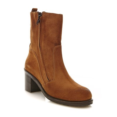 Ann Tuil boots, bottines - or