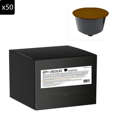 Ristretto Chocolat - capsule café soluble compatible dolce gusto - x50