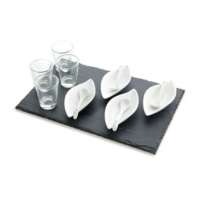 Home and Styling Set para aperitivos - blanco