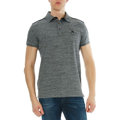 Deeluxe Gentle - polo manches courtes - gris