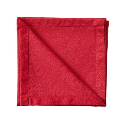 Madura Marjane - serviette de table - rouge