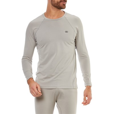 Damart Sport easy body - t-shirt manches longuesthermolactyl degré 3 - gris clair