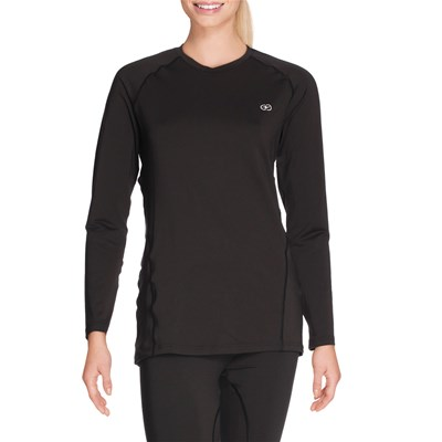 Damart Sport easy body - t-shirt thermolactyl degré 4 - noir