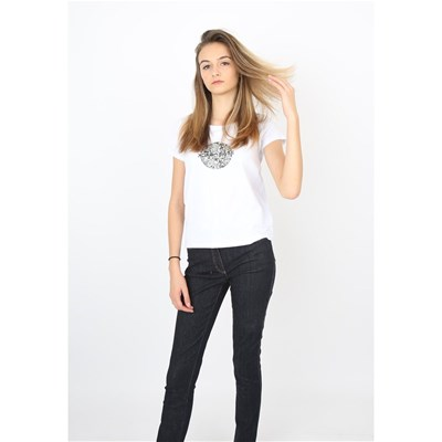 Back To Base Liberty - T-shirt manches courtes - blanc