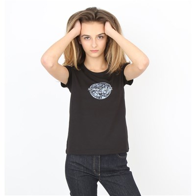 Back To Base Liberty - T-shirt manches courtes - noir