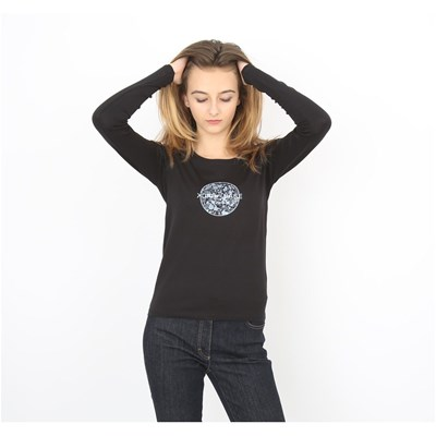 Back To Base Liberty - T-shirt manches longues - noir