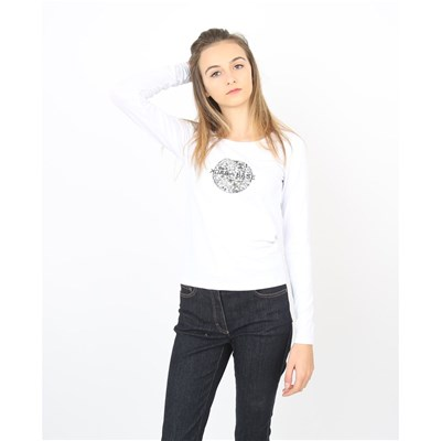 Back To Base T-shirt manches longues - blanc