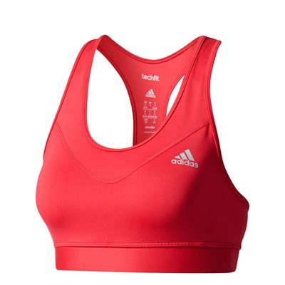 Adidas Performance tf bra solid - soutien-gorge - rouge