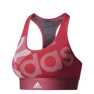 Adidas Performance tf bra lo - soutien-gorge - rouge