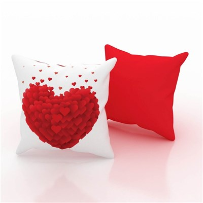 Home Sweet home coussin coeurs