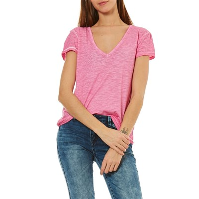 Best Mountain T-shirt manches courtes - rose