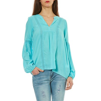 Best Mountain blouse - turquoise