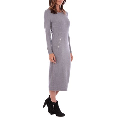 largoGris Maille Medio Vestido Maille Love JT1c5uK3lF