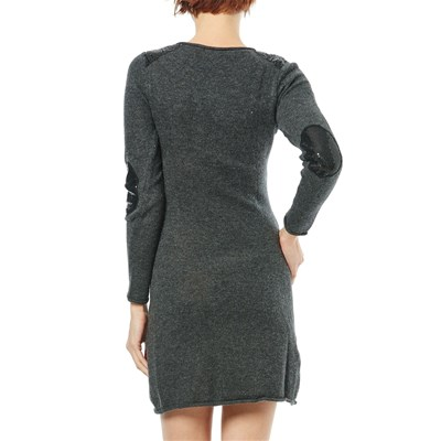Maille Vestido JerseyGris Maille Love Love Oscuro n80NwOXPk