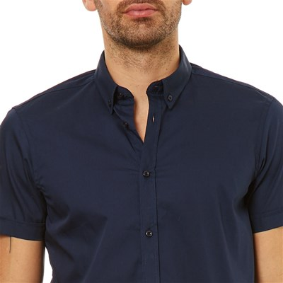 Scuro Blu Courtes Best Mountain Chemise Manches a8HHFq