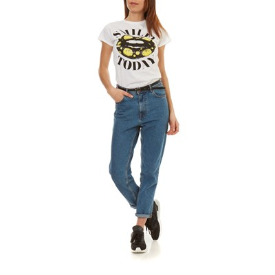 SMILEY Smile Today - T-shirt manches courtes - blanc