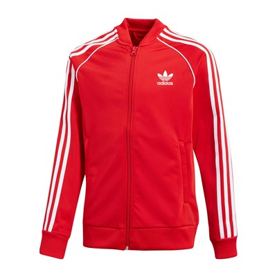 Adidas Originals sweat polaire - rouge