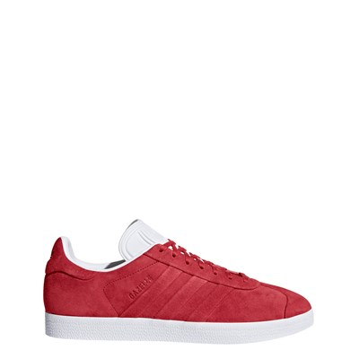 zapatillas Adidas Originals Gazelle Stitch And Turn Zapatillas de cuero rojo