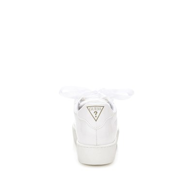 GUESS Urny - Baskets vernis - blanc