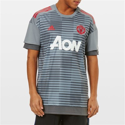 Adidas Performance manchester united - t-shirt manches courtes - gris