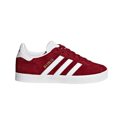 Adidas Originals gazelle c - sneakers en cuir - rouge