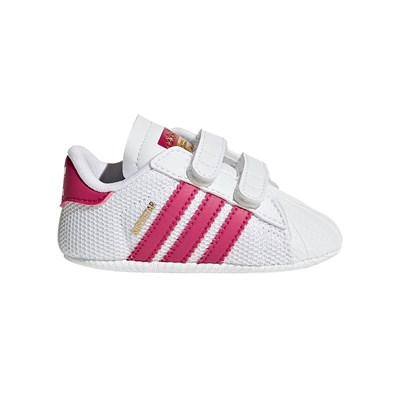Adidas Originals superstar crib - baskets - blanc