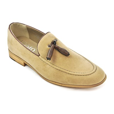 zapatillas Uomo Mocasines beige