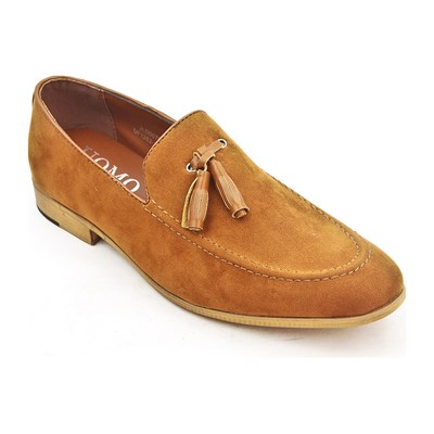 zapatillas Uomo Mocasines camel