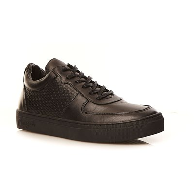 Chevignon Baskets en cuir - noir