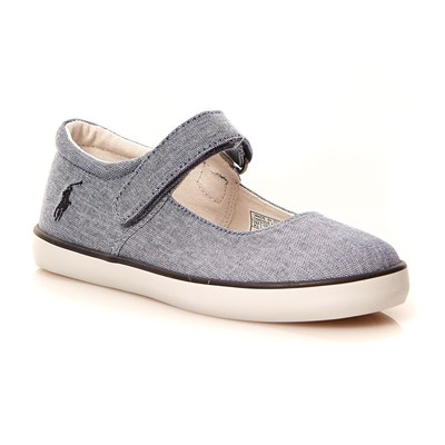 zapatillas Ralph Lauren Kids Sandy Zapatillas azul cl?sico