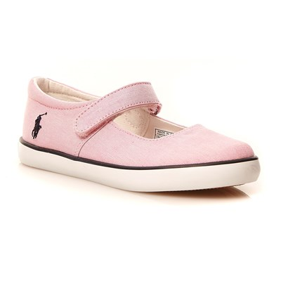 zapatillas Ralph Lauren Kids Sandy Zapatillas rosa
