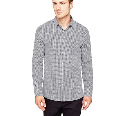 Marciano Los Angeles Chemise manches longues - gris