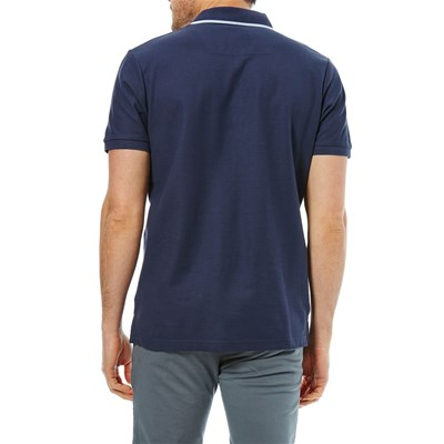 Best Polo Courtes Mountain Scuro Manches Blu 00RwpqS