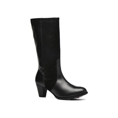 zapatillas Hush Puppies Kate Botas de cuero negro