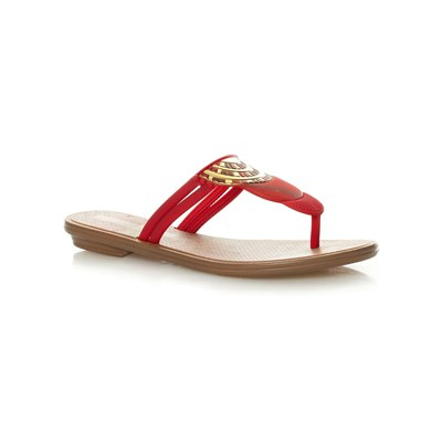 zapatillas Grendha Tribal Thong Chanclas rojo