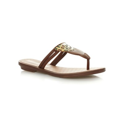 zapatillas Grendha Tribal Thong Chanclas marr?n