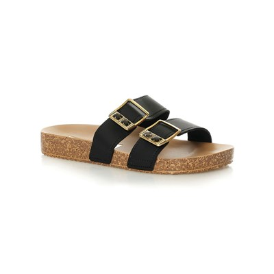 zapatillas Grendha ESSENCE SLIDE Zuecos negro
