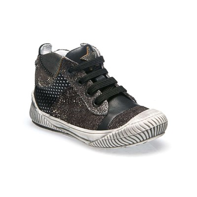 zapatillas Ikks shoes Kelly Botines de cuero gris