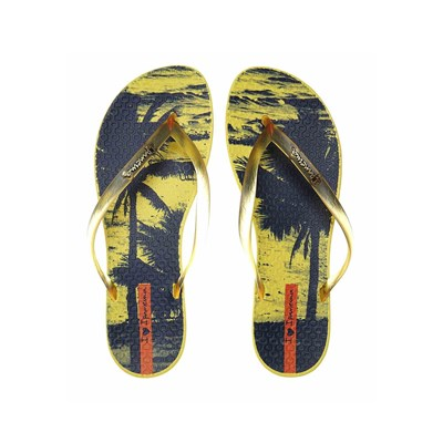 zapatillas Ipanema Wave Tropical Chanclas amarillo