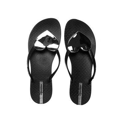 zapatillas Ipanema Maxi Fashion Chanclas negro