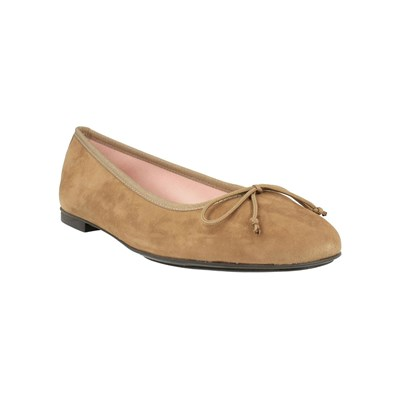 Bisue Ballerines en cuir - marron