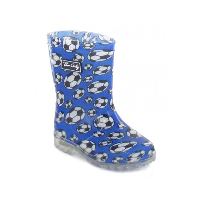 Be Only football kid flash - bottes de pluie - bleu